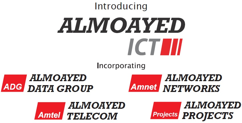 Almoayed Group WLL introduces Almoayed ICT as part of its new Corporate Brand Identity